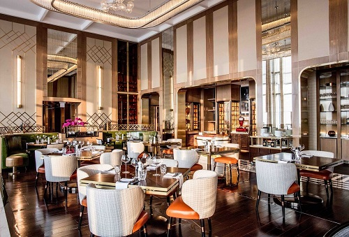 luxury dining venue in intercontinental hanoi landmark72 hanoi city hotel