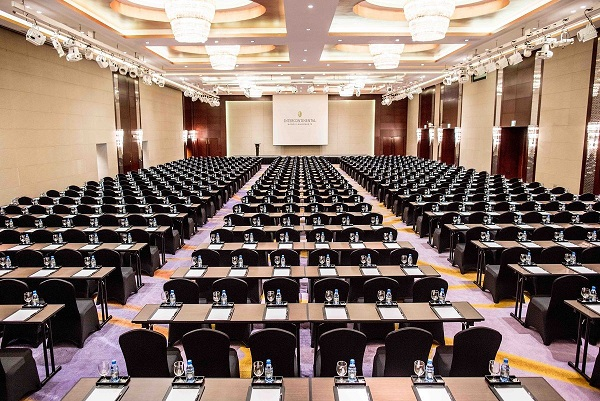 grand ballroom at intercontinental hanoi landmark72 hanoi luxury hotel