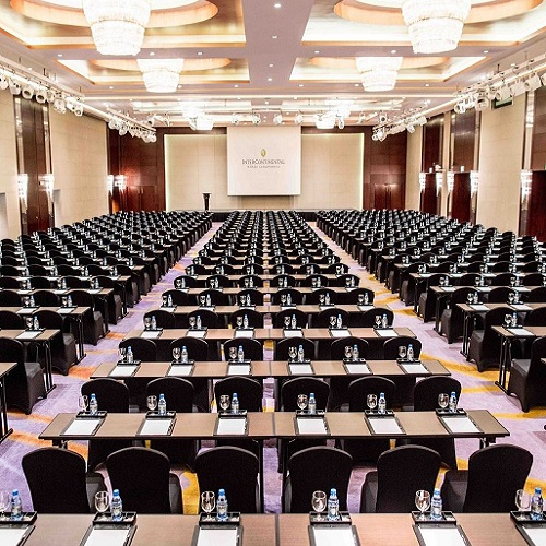 phòng khách tiệc và dịch vụ tổ chức sự kiện tại intercontinental hanoi landmark72 khách sạn 5 sao sang trọng cao nhất hà nội
