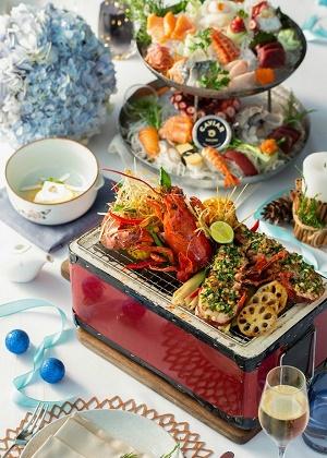 international buffet in Hanoi city hotel