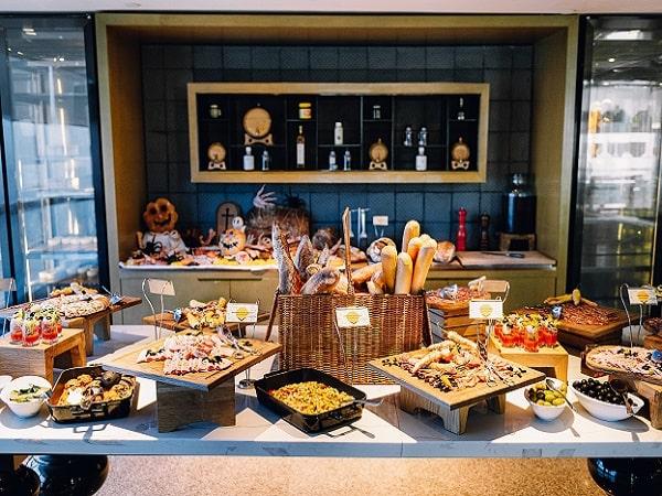 Buffet của khách sạn tại Hà Nội