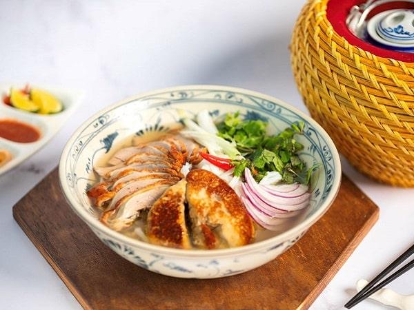 Hanoi hotel restaurant noodle meal