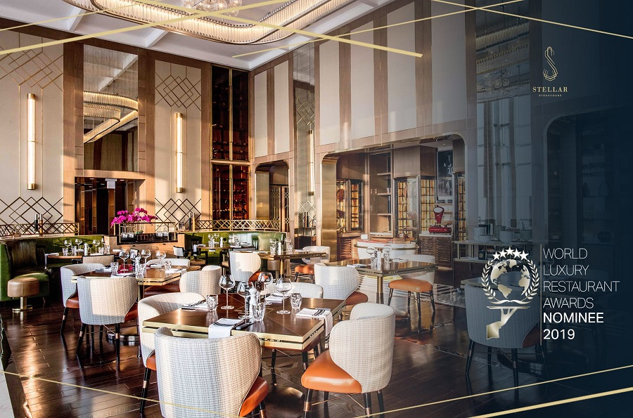 Stellar Steakhouse Hanoi restaurant setting