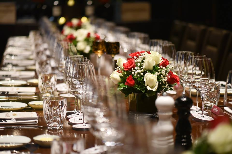 private wine and dine dinner at 5 star hotel in hanoi