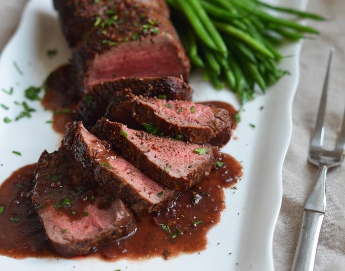Steak au Poivre from Hanoi hotel restaurant