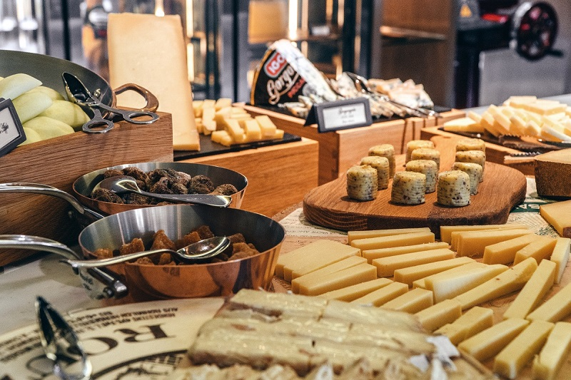 french butter at sunday brunch buffet at hanoi luxury hotel