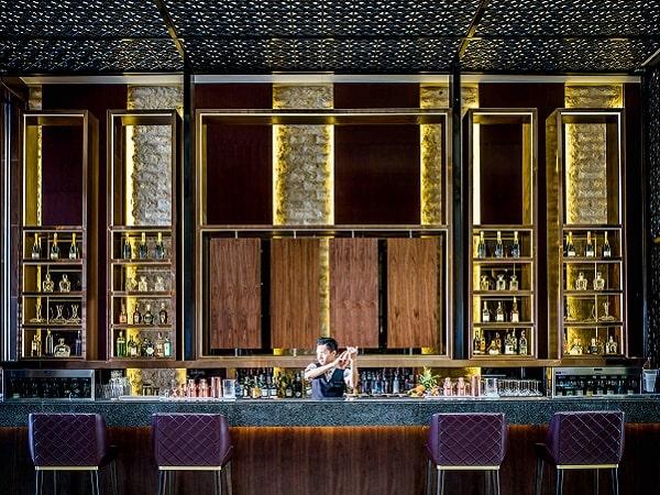 quầy bar của khách sạn tại Hà Nội