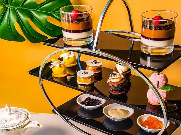 Hanoi hotel afternoon tea dessert