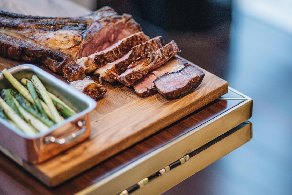 Hanoi hotel restaurant well-prepared dry-aged beef