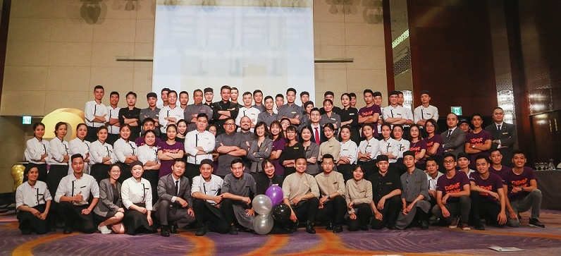 Hanoi luxury dining experience with Chef Nicolas and team