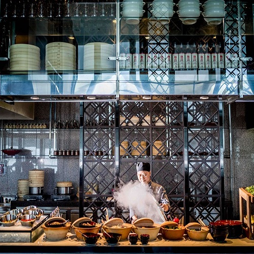 buffet và ẩm thực tinh tế tại nhà hàng 3 spoons tại khách sạn 5 sao intercontinental hanoi landmark72 sang trọng tại hà nội