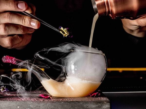 Hanoi hotel bar signature cocktail