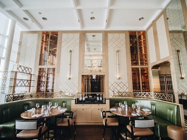 Hanoi hotel Stellar Steakhouse interior design