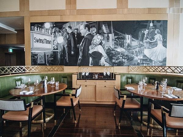 Stellar Steakhouse interior design in Hanoi