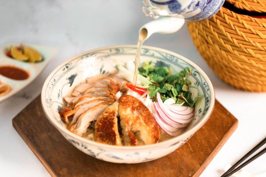 Hanoi hotel signature pho noodle soup