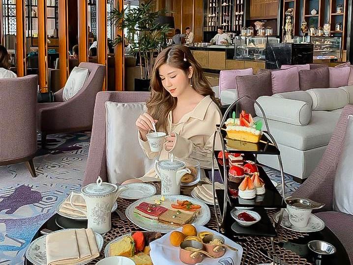 check in sang chảnh tại trà chiều khách sạn 5 sao intercontinental hà nội