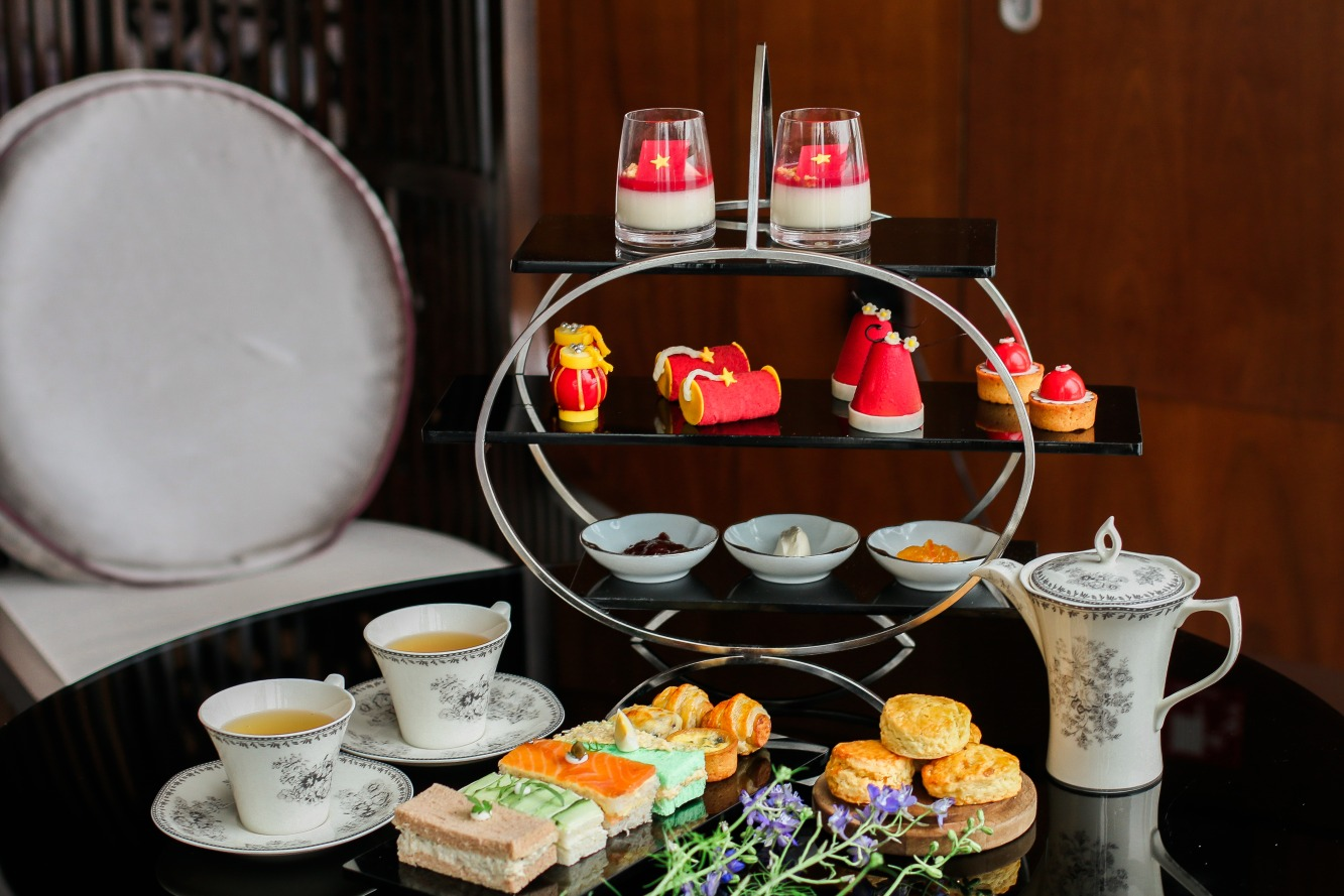 intercontinental hanoi spring afternoon tea