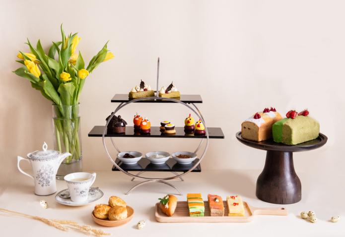 intercontinental hanoi afternoon tea spring