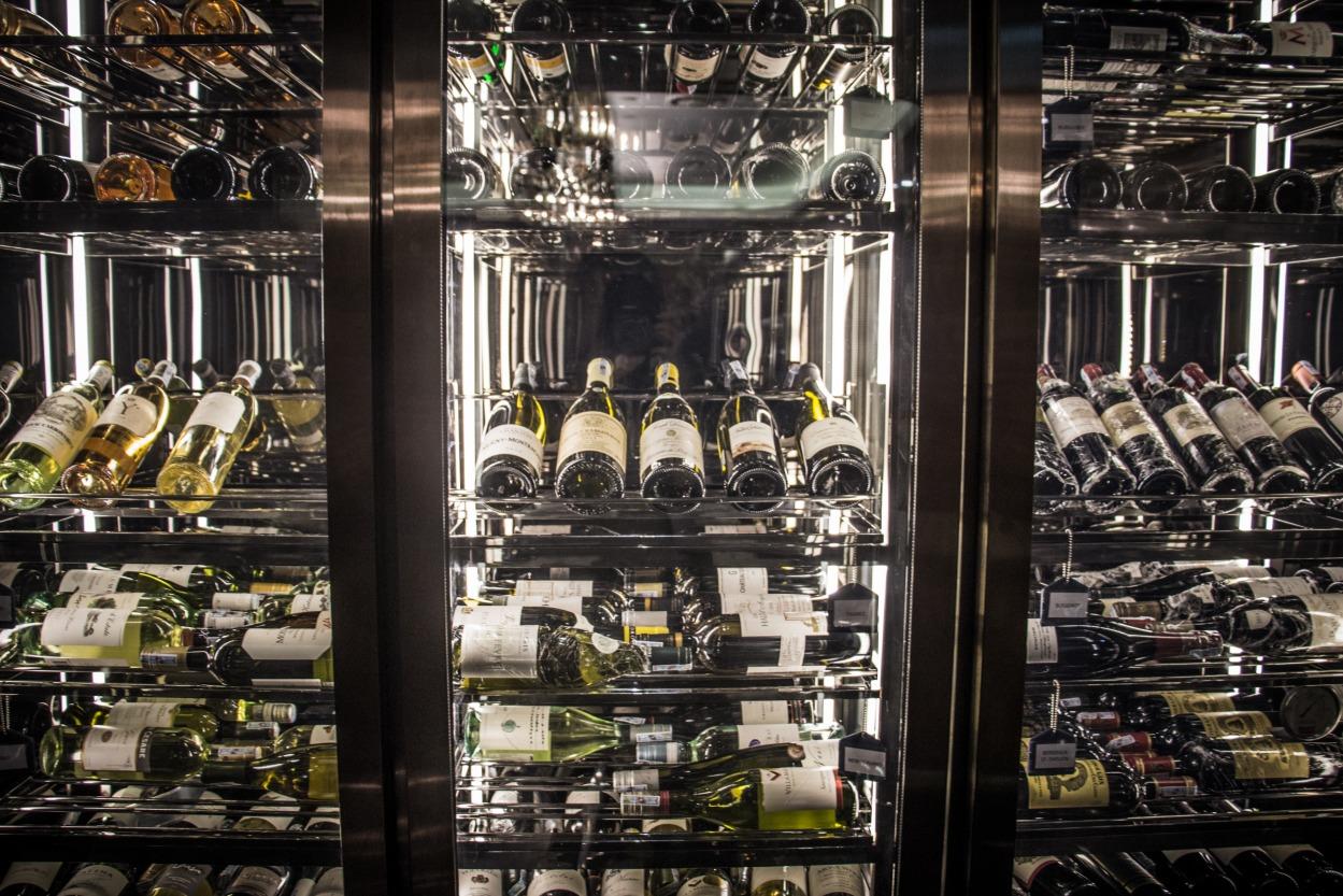 intercontinental hanoi stellar teppanyaki wine collection