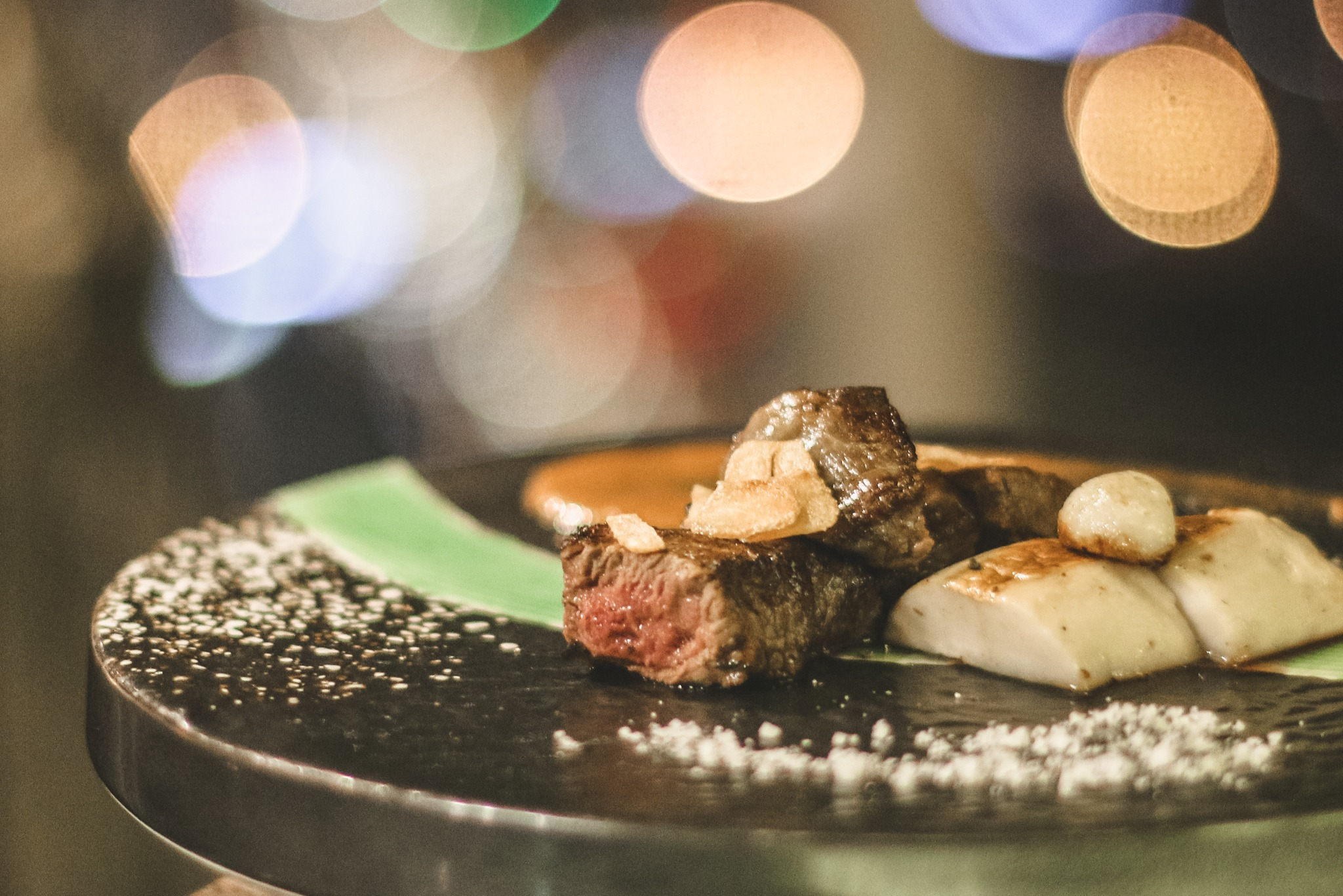 intercontinental stellar teppanyaki hanoi steak cuisine
