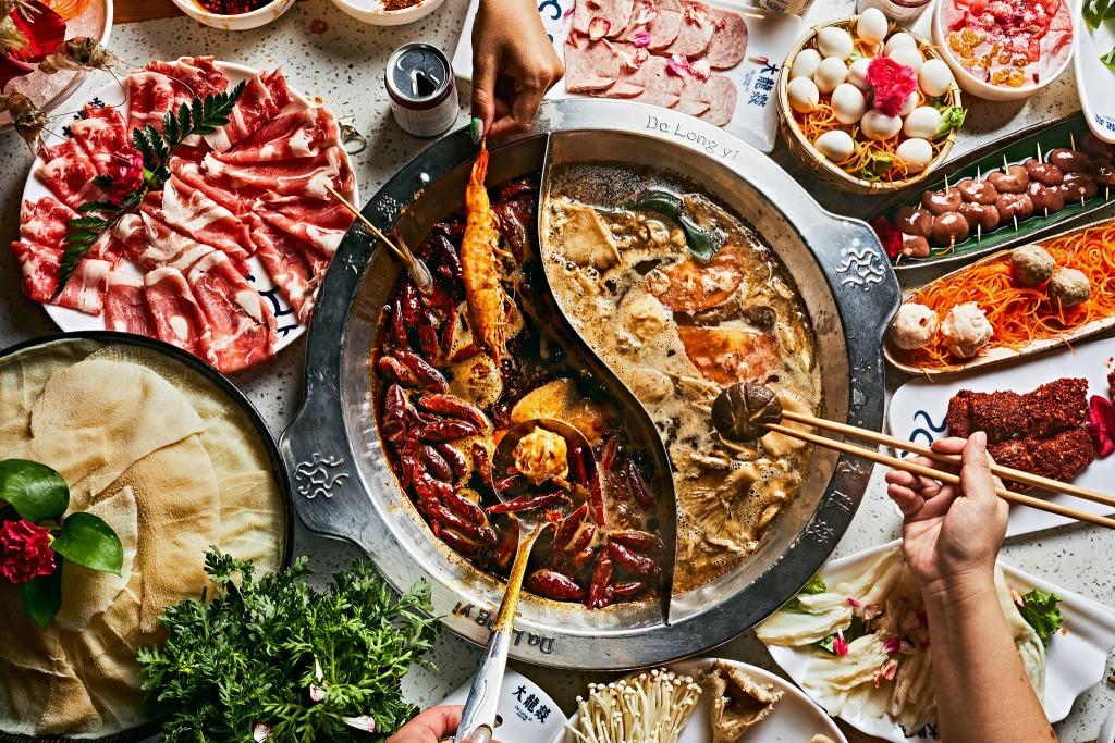 intercontinental hanoi nhà hàng buffet lẩu hải sản