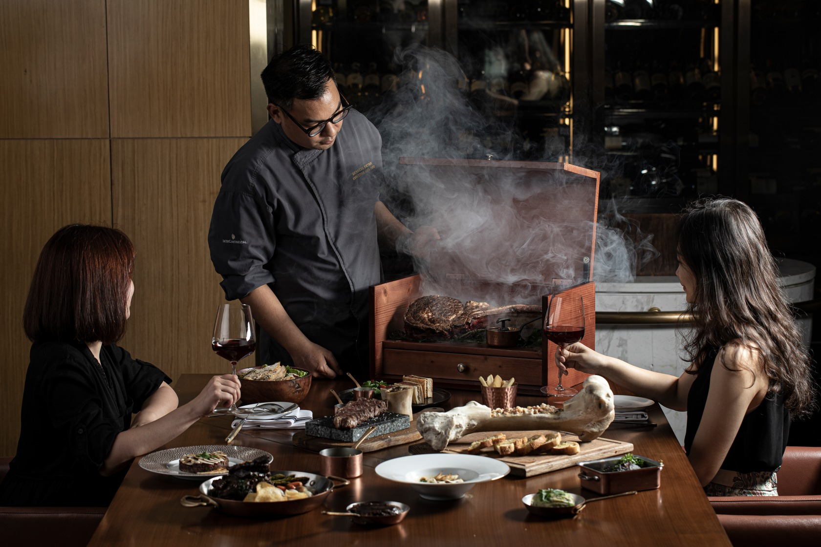 Hanoi hotel chef food presentation