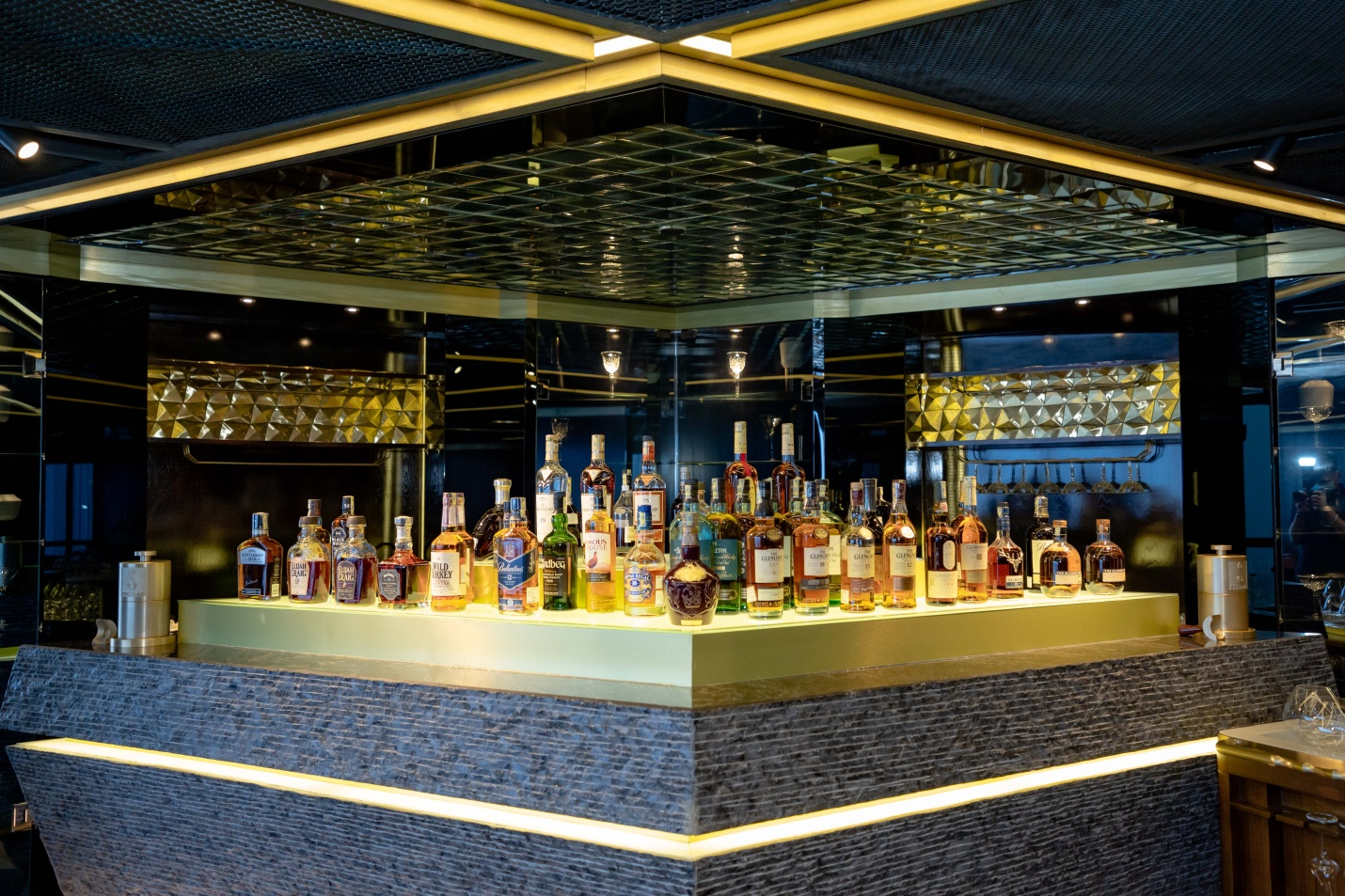 Hanoi 5-star hotel wine and spirit collection