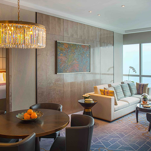Luxurious accommodation and Club InterContinental benefits with the Ambassador Suite at InterContinental Hanoi Landmark72