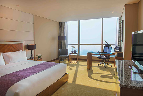 Hanoi luxury accommodations Club InterContinental rooms