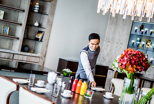 dedicated butler service by InterContinental Hanoi Landmark72