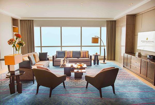 phòng presidential suite sang trọng tại intercontinental hanoi landmark72 khách sạn 5 sao cao nhất hà nội
