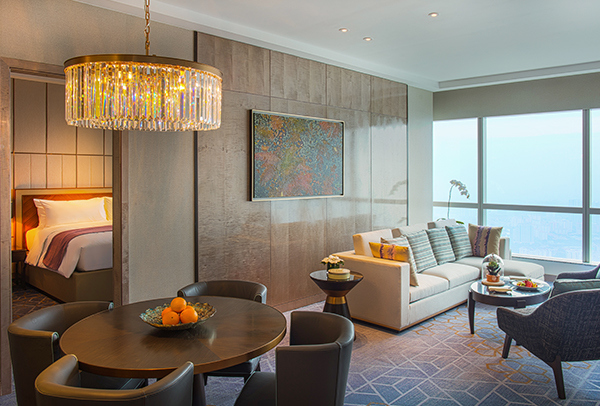 luxury hotel suite in Hanoi
