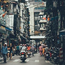 khám phá phố phường Hà Nội