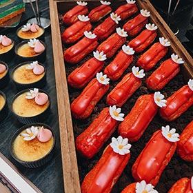 Các món tráng miệng tại khách sạn ở Hà Nội