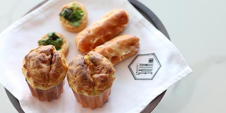 The Hive Lounge Hanoi hotel pastries