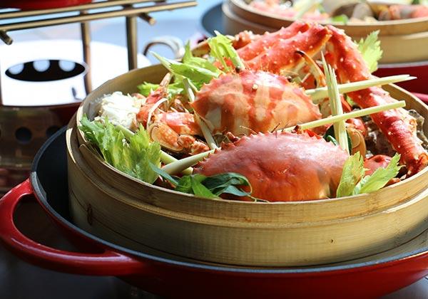 Ẩm thực Nhật, hải sản, tôm hùm tại nhà hàng sang trọng khách sạn 5 sao cao nhất Hà Nội intercontinental hanoi landmark72