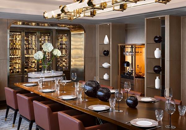 nhà hàng sang trọng intercontinental hanoi landmark72 khách sạn 5 sao cao nhất hà nội