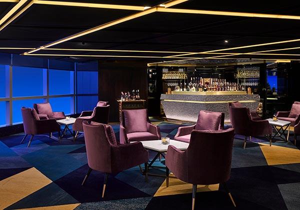 nhà hàng sang trọng tại intercontinental hanoi landmark72 khách sạn 5 sao cao nhất hà nội