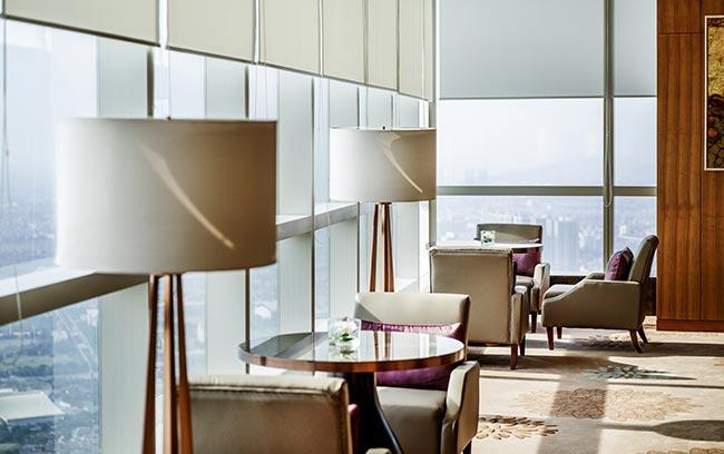 hotel lounge in Hanoi Vietnam