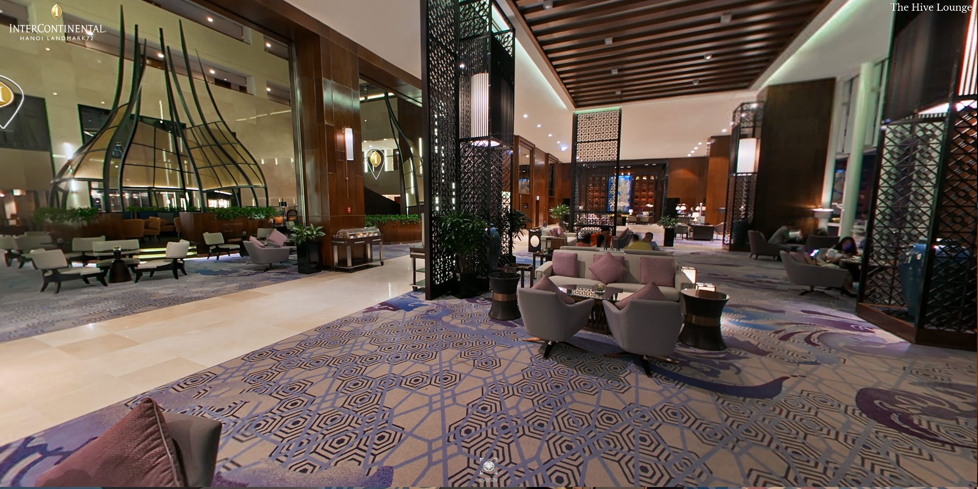 Hive Lounge in a Hanoi city centre hotel