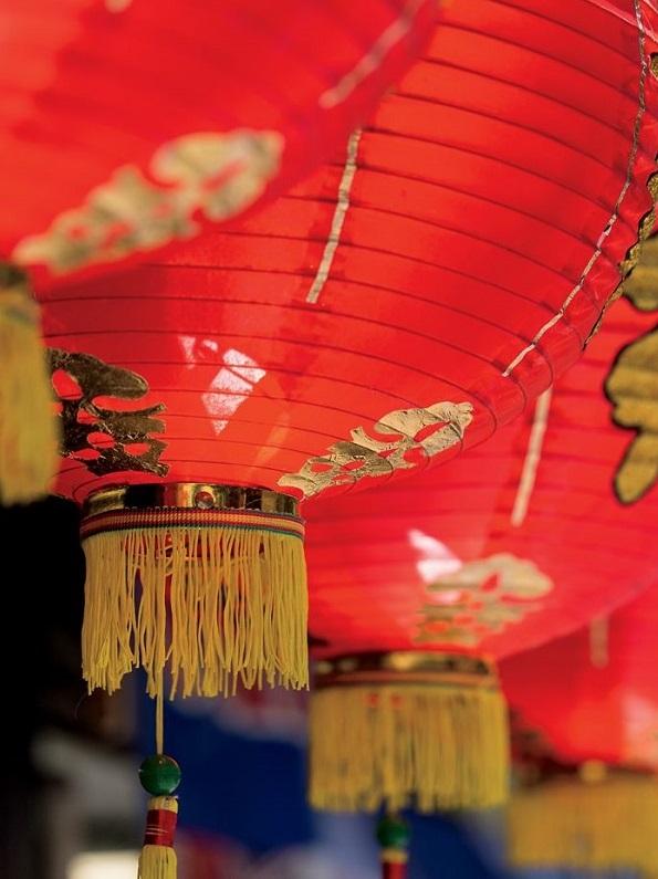 red lantern for tet holiday intercontinental hanoi landmark72