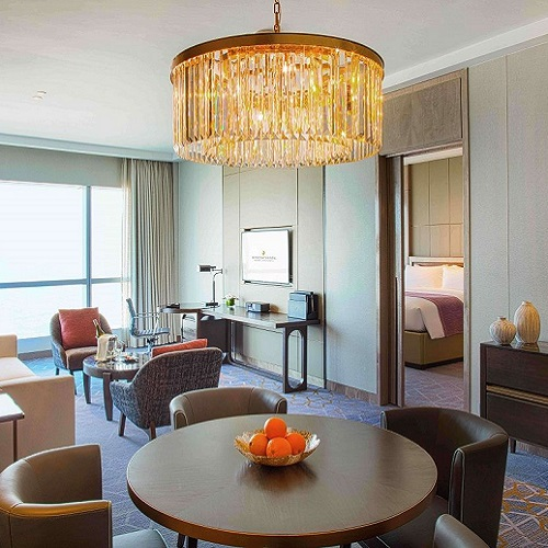 Luxurious accommodation and Club InterContinental benefits with the Royal Suite at InterContinental Hanoi Landmark72