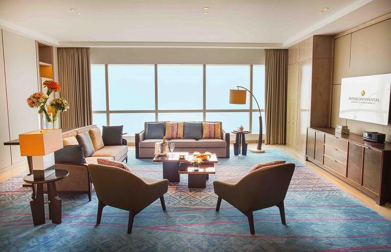 phòng presidential suite tại intercontinental hanoi landmark72 khách sạn 5 sao cao nhất hà nội