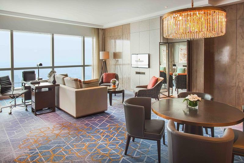luxury hotel room in hanoi city hotel