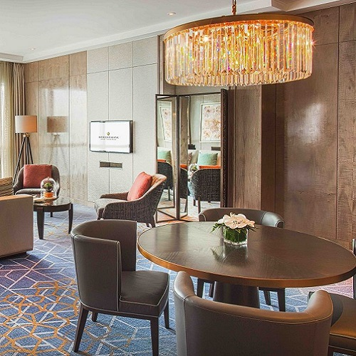 luxury hotel room in Hanoi during tet
