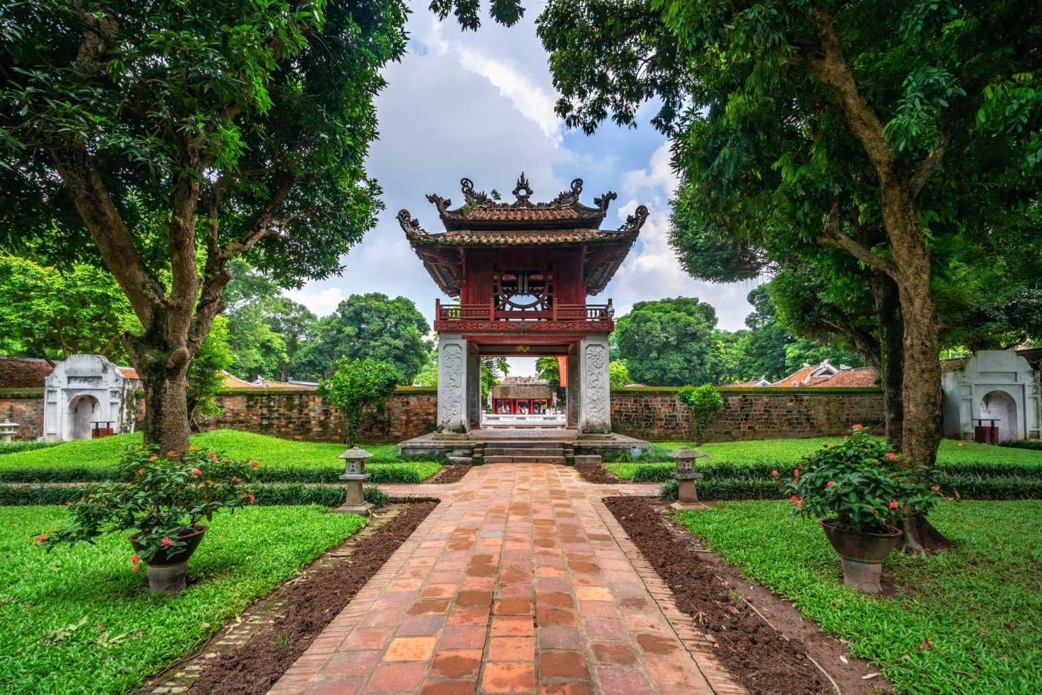 temple of literature, best historical place in Hanoi