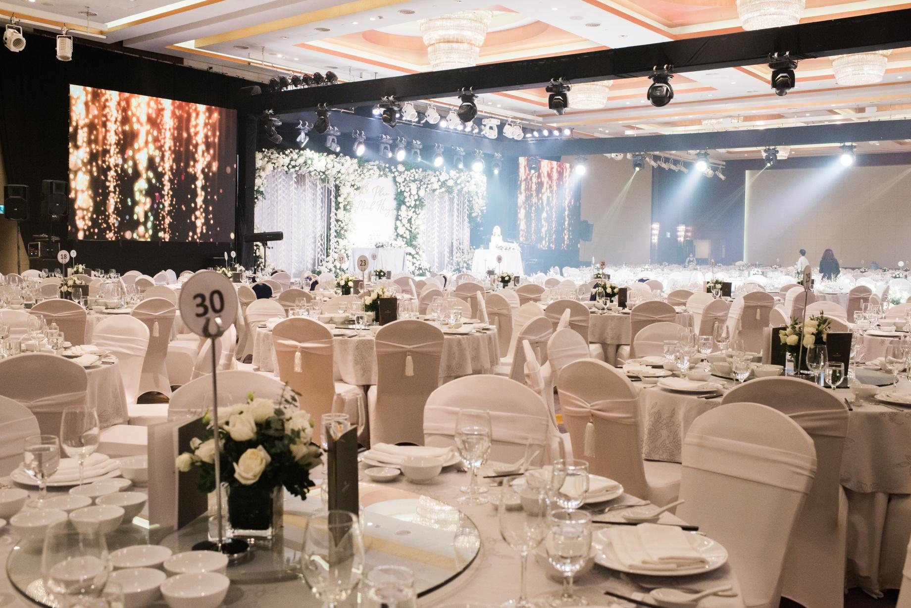 Hanoi hotel wedding banquet